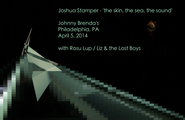 the skin, the sea, the sound-Album Release Poster Final-Johnny Brenda's